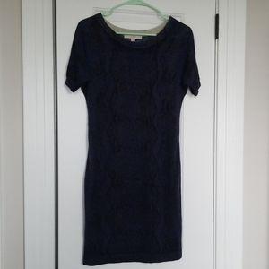 Ann Taylor Loft snake print dress